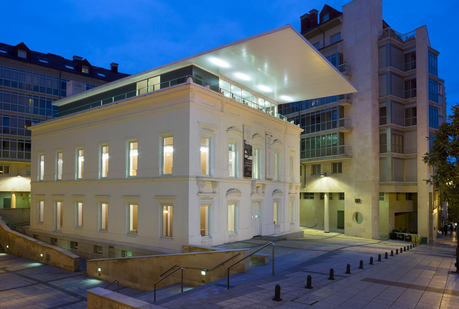 sede del colegio oficial de arquitectos de asturias en