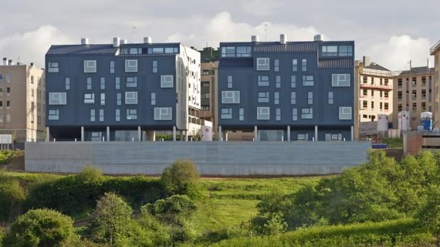 Dos edificios de viviendas en El Nodo
