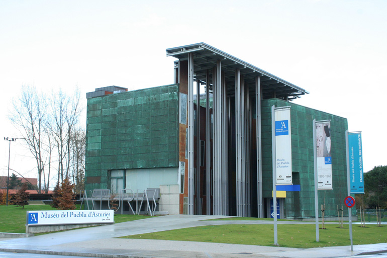 Pabellón d'Asturies na Expo92 – Museu del pueblu d'Asturies