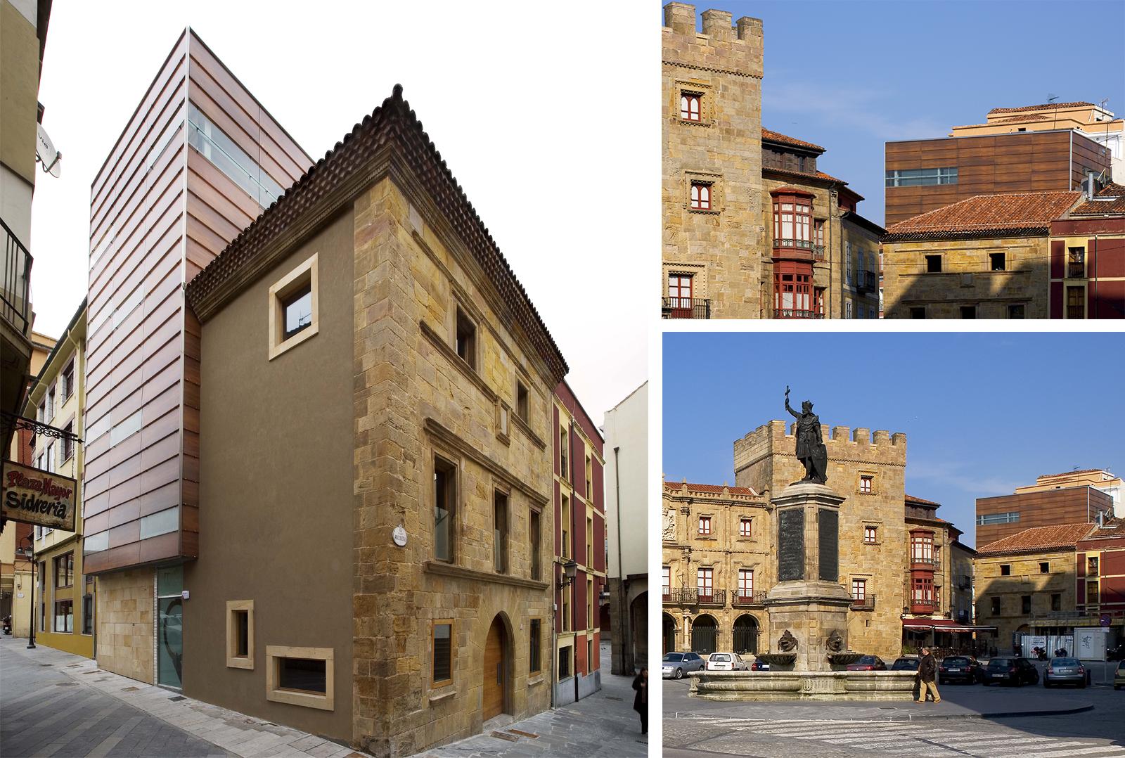 Sede del Colegio Oficial de Arquitectos de Asturias en Gijón