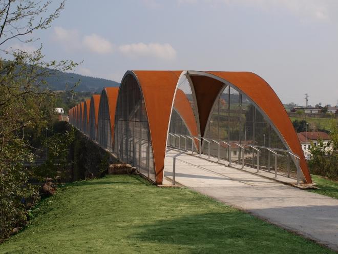 Adecuación del viaducto de Serín como pasarela peatonal