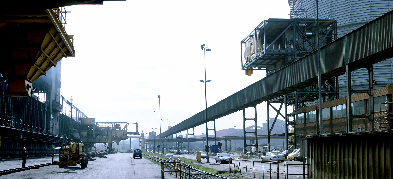 Sala de Control de las Baterías de Cok. Factoría de Veriña en Gijón.