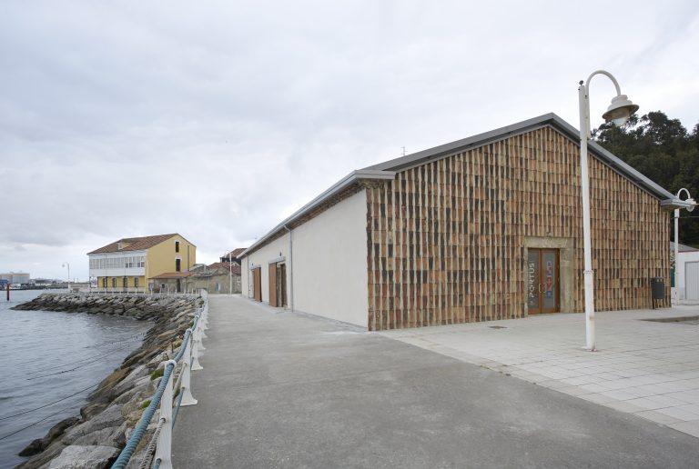Espacio Portus, rehabilitación del edificio de los antiguos astilleros en la ría de Avilés